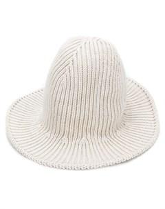 Ami alexandre mattiussi трикотажная шляпа в рубчик Ami alexandre mattiussi
