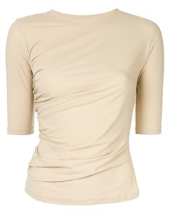 Irene рубашка с рукавами 3 4 нейтральные цвета Irene