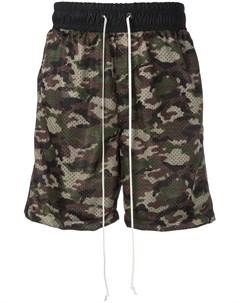 Daniel patrick сетчатые шорты с камуфляжным принтом Daniel patrick