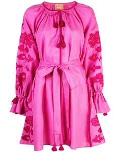 March 11 платье мини с вышивкой March 11