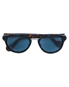 moncler солнцезащитные очки с узором черепашьего панциря Moncler