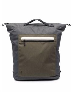 Рюкзак в стиле колор блок с застежкой на молнию Ally capellino