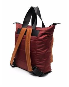 Рюкзак в стиле колор блок с логотипом Ally capellino