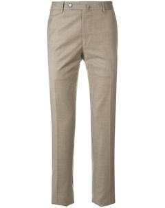 Biagio santaniello брюки узкого кроя нейтральные цвета Biagio santaniello