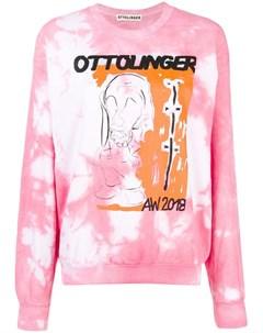 Ottolinger свитер с эффектом тай дай s розовый Ottolinger