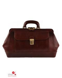 Дорожная сумка цвет коричневый Pellevera