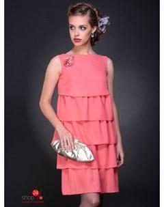 Платье цвет коралловый Bravissimo