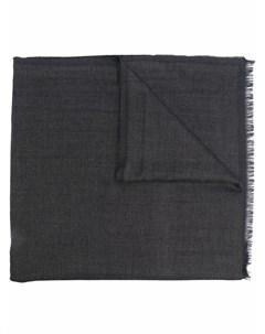 Длинный шарф тонкой вязки Ermenegildo zegna