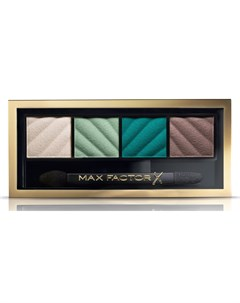 Тени для век и пудра для бровей 40 Smokey Eye Matte Drama Kit hypnotic jade Max factor