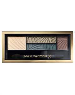 Тени четырехцветные для век и бровей 05 Smokey Eye Drama Kit magnetic jades Max factor