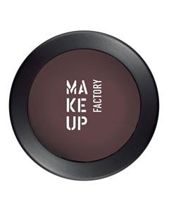 Тени одинарные матовые для глаз 60 матовый баклажан Mat Eye Shadow 3 г Make up factory