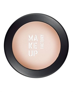 Тени одинарные матовые для глаз 35 натуральная кожа Mat Eye Shadow 3 г Make up factory