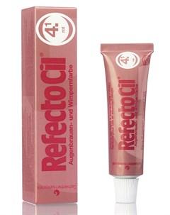 Краска для бровей и ресниц 4 1 красный 15 мл Refectocil