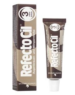 Краска для бровей и ресниц 3 коричневый 15 мл Refectocil
