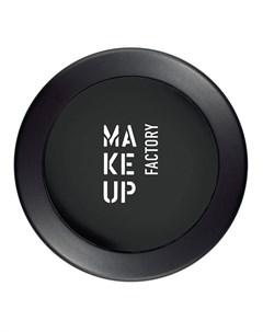 Тени одинарные матовые для глаз 02 черный кофе Mat Eye Shadow 3 г Make up factory