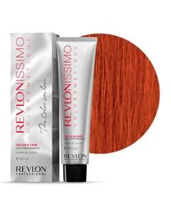 66 40 краска для волос темный блондин насыщенно медный RP REVLONISSIMO COLORSMETIQUE 60 мл Revlon professional