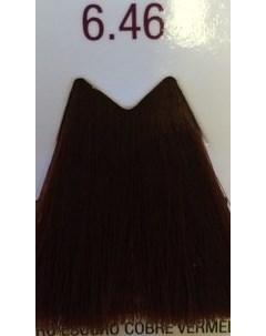 6 46 краска для волос темный блондин медно красный LIFE COLOR PLUS 100 мл Farmavita