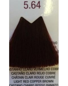 5 64 краска для волос светло каштановый медно красный LIFE COLOR PLUS 100 мл Farmavita