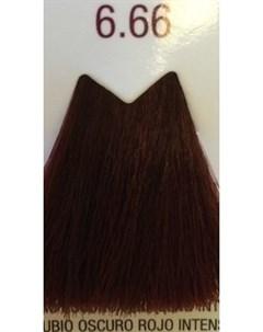 6 66 краска для волос темный блондин насыщенный красный LIFE COLOR PLUS 100 мл Farmavita