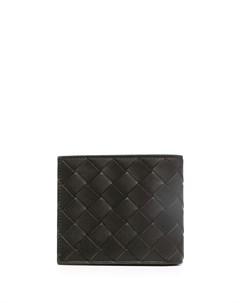 Бумажник с плетением Intrecciato Bottega veneta