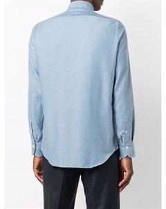 Кашемировая рубашка с длинными рукавами Finamore 1925 napoli