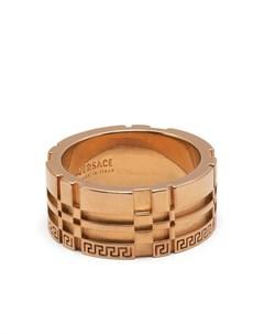 Кольцо с гравировкой Greca Versace