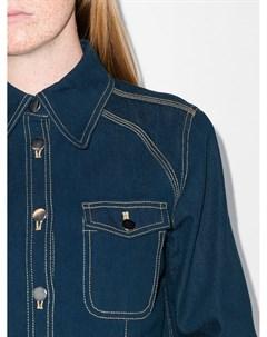 Джинсовая рубашка с длинными рукавами Lee mathews