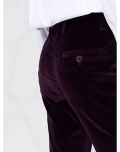 Расклешенные бархатные брюки Etro