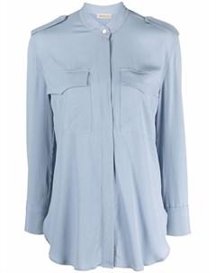 Рубашка из смесового шелка Blanca vita
