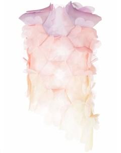 Блузка с цветочной аппликацией Paskal