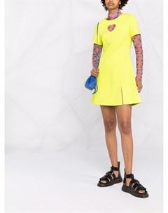 Короткое расклешенное платье с вырезами Paskal