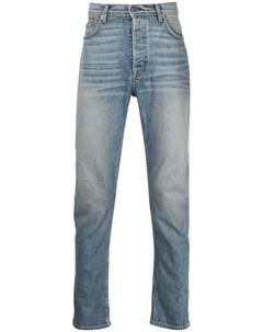 Узкие джинсы с эффектом потертости Enfants riches déprimés