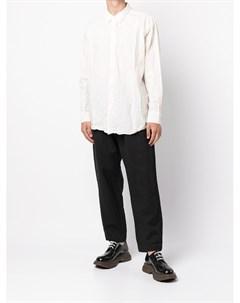 Рубашка Fabiano с жатым эффектом Casey casey