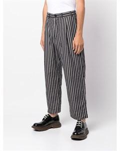Широкие брюки с жатым эффектом Casey casey