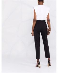 Зауженные брюки с логотипом Dolce&gabbana