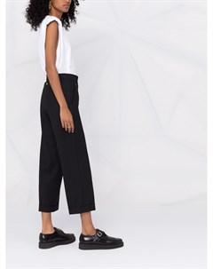 Укороченные брюки прямого кроя Twinset
