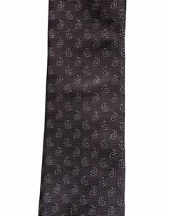 Шелковый галстук с узором пейсли Givenchy