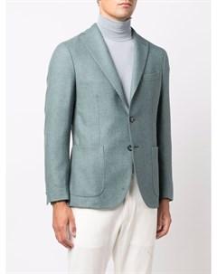 Шерстяной однобортный пиджак Boglioli
