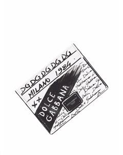 Картхолдер с логотипом Dolce&gabbana