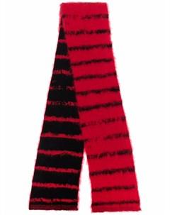 Шерстяной шарф в полоску Saint laurent