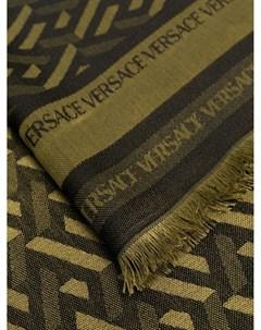 Жаккардовый шарф Versace