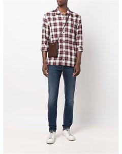 Клетчатая рубашка на пуговицах Tommy hilfiger