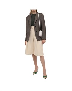 Кожаные мюли Gia couture