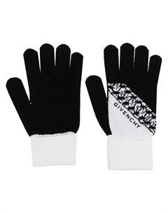 Шерстяные перчатки с логотипом Givenchy
