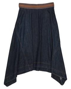 Джинсовая юбка Brunello cucinelli
