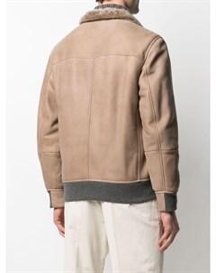 Куртка с мехом Brunello cucinelli