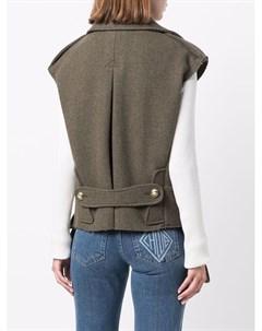 Двубортный пиджак без рукавов Etro