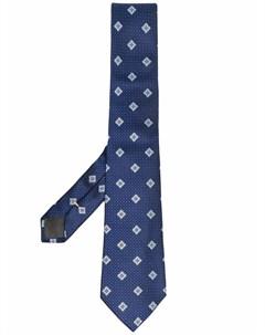 Жаккардовый галстук с узором Canali