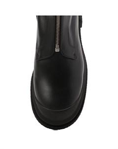 Кожаные ботинки Stuart weitzman