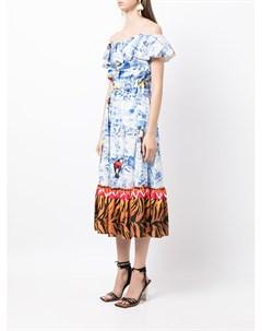 Платье с принтом Stella jean